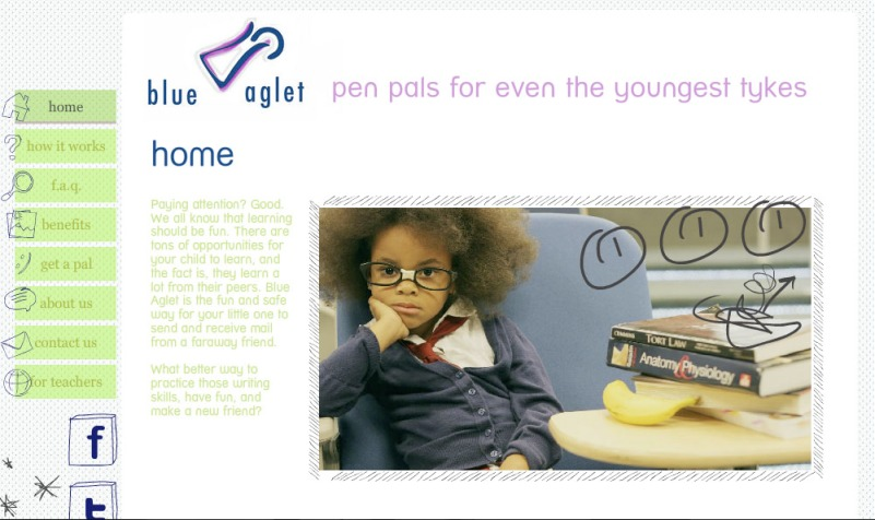 Pen Pals for even the youngest tykes – oliversmile