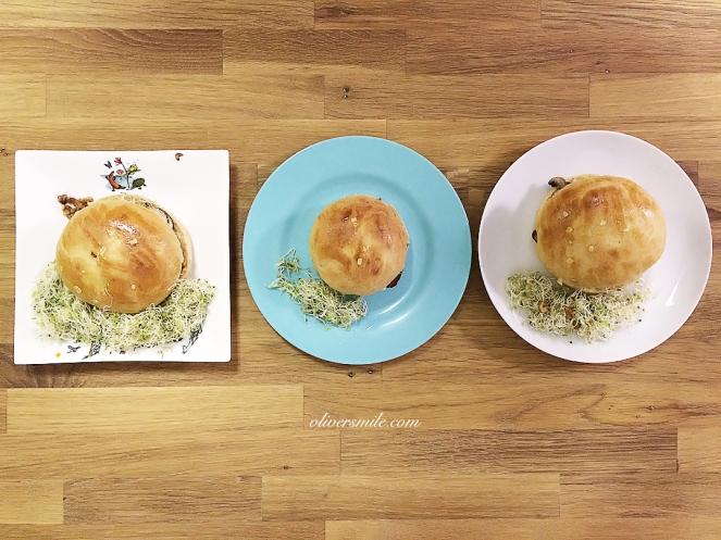 wholewheat hamburger bun