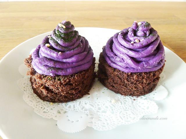 Japanese Purple Sweet Potato Montblanc – oliversmile